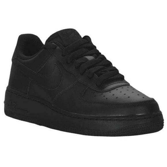 Boys Air Force 1 Sneakers GS Black Size 3y NIB